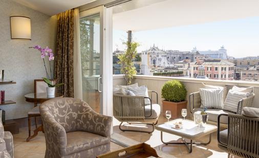Hotel Nazionale - Rooma - Parveke