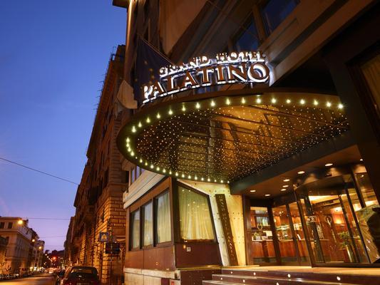 Fh55 Grand Hotel Palatino - Rooma - Rakennus