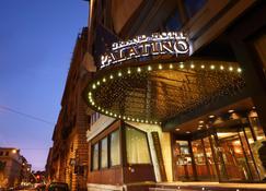 Fh55 Grand Hotel Palatino - Rom - Gebäude