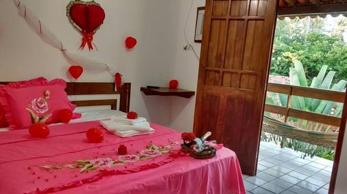 Pousada Lua Cheia - Japaratinga - Bedroom