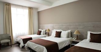 هوتل نوتيبارا - ميديلين - غرفة نوم