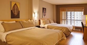 Hotel Le Dauphin Montreal Centre Ville - Монреаль - Спальня