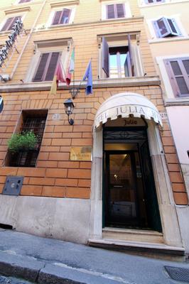 Hotel Julia - Ρώμη - Κτίριο