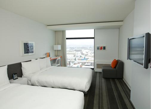 魁北克普爾酒店 - 魁北克 - 魁北克市 - 臥室