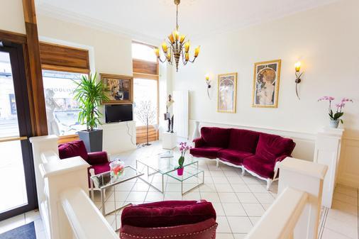 Hôtel De L'europe Grenoble Hyper Centre - Grenoble - Living room