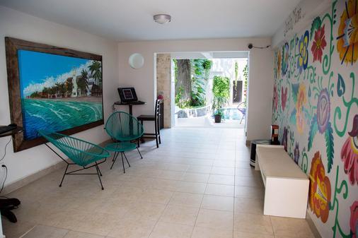卡薩第庫爾酒店 - 卡曼海灘 - 普拉亞卡門 - 休閒室