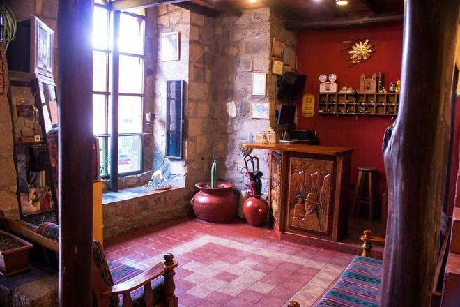 Hostal Teatro Inka - Cusco - Rezeption