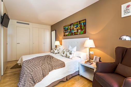 Urban Districs Apartments Rambla Suite & Pool - Barcelona - Schlafzimmer
