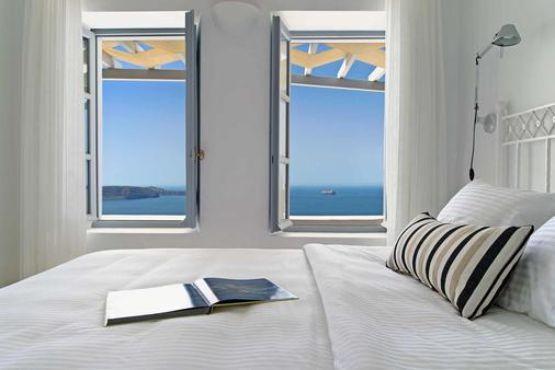 Lilium Santorini Villas - Σαντορίνη - Κρεβατοκάμαρα