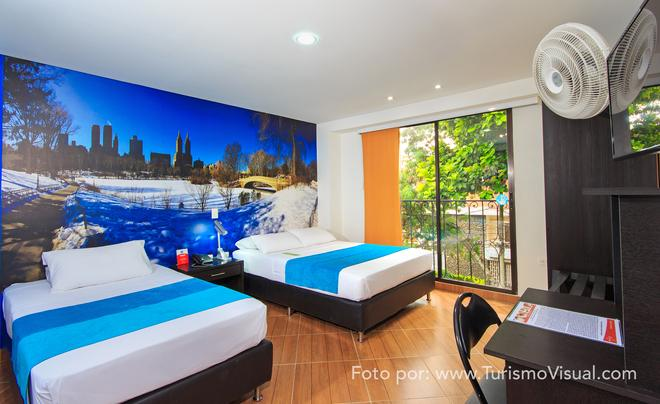 Hotel Quinta Avenida - Medellín - Bedroom