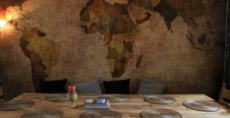 Kabas Hostel - Antwerp - Dining room