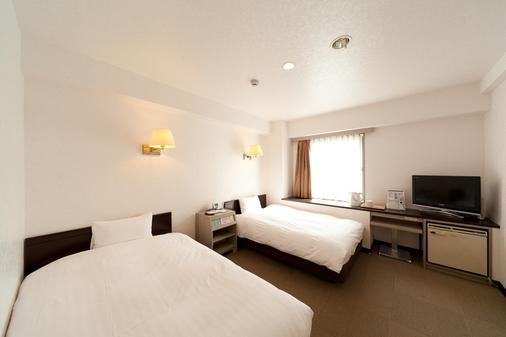 福岡大濠太陽線飯店 - 福岡 - 臥室