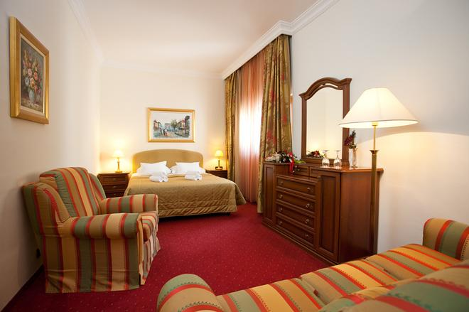 格羅伯酒店 - 斯普利特 - 斯普利特 - 臥室