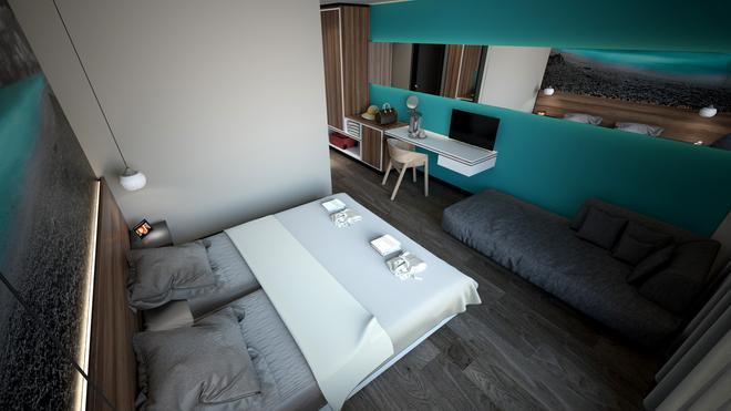 Atrium Ambiance Hotel - Rethymno - Bedroom
