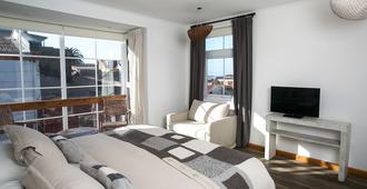 Casa Galos Hotel & Lofts - ולפאראיסו - חדר שינה