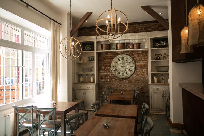 Casa Galos Hotel & Lofts - Valparaíso - Dining room