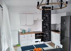 Apartament Szczytno Mazury - Szczytno - ห้องครัว