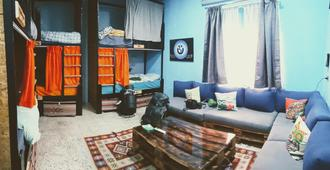 Carob Hostel - Amman - Living room