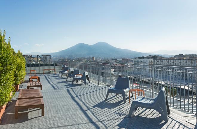 B&B Hotel Napoli - Nápoles - Balcón