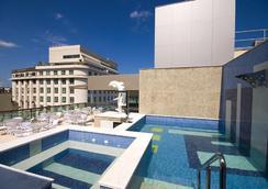 Hotel Atlantico Business Centro - Rio De Janeiro - Piscine