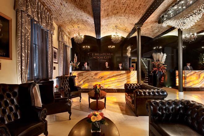 倫敦市蒙卡爾姆啤酒廠酒店 - 倫敦 - 倫敦 - 大廳