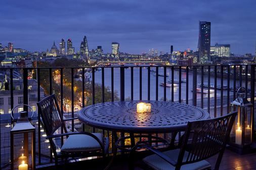 Savoy Hotel London - Londres - Balcon
