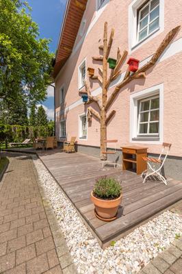Das Grüne Hotel Zur Post - 100 % Bio - Salzburg - Patio