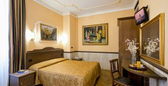 Hotel Marco Polo - Rom - Schlafzimmer