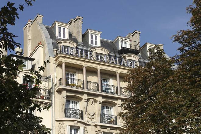 Little Palace Hotel - Pariisi - Rakennus