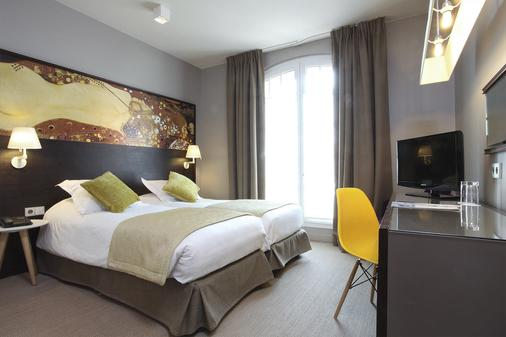 Little Palace Hotel - Paris - Phòng ngủ
