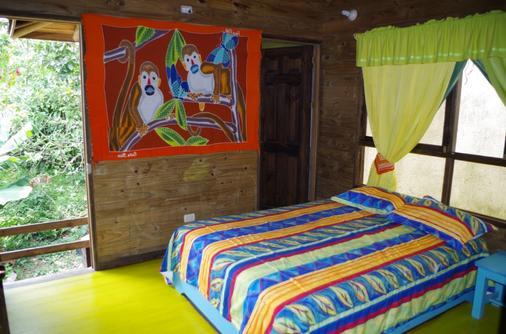 Wood House Hostel - La Fortuna - Makuuhuone