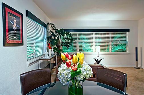 Suites On South Beach - Bãi biển Miami - Phòng ăn