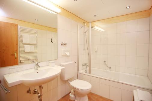 Romantik Hotel Sonne - Bad Hindelang - Bathroom