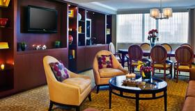 New York Marriott Downtown - Nova York - Sala de estar