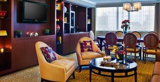 نيويورك ماريوت داونتاون - نيويورك - غرفة معيشة