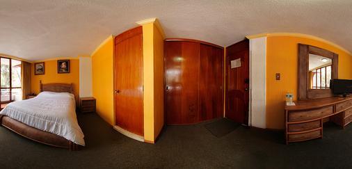 Hotel Las Américas - Morelia - Schlafzimmer