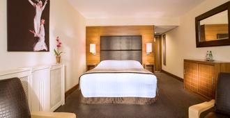 Big Blue Hotel - בלקפול - חדר שינה