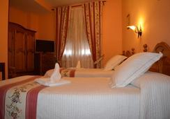 Hotel Casa Reboiro - Monforte de Lemos - Schlafzimmer