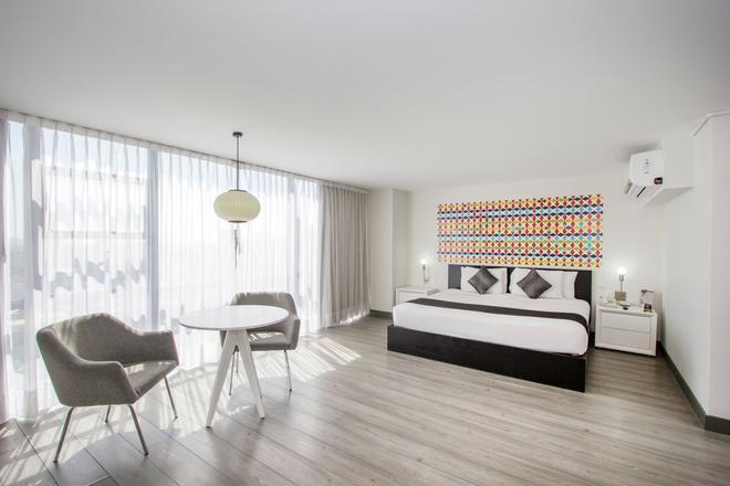 Hotel El Ejecutivo By Reforma Avenue - Mexico City - Bedroom