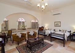 Nahargarh Ranthambhore - Sawāi Mādhopur - Schlafzimmer