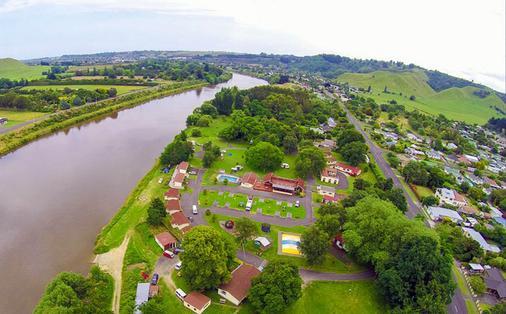 Whanganui River Top 10 Holiday Park - Whanganui - Cảnh ngoài trời