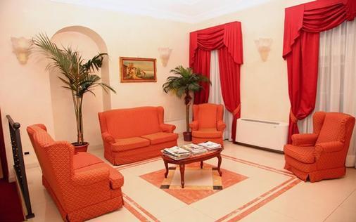 Hotel Nizza - Turin - Living room