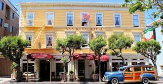 San Remo Hotel - San Francisco - Building