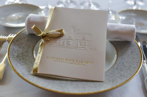 Château Pape Clément - Bernard Magrez Luxury Wine Experience - Pessac - Dining room