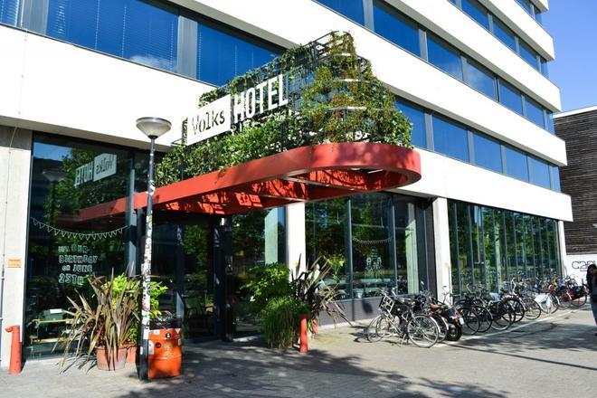 Volkshotel - Άμστερνταμ - Κτίριο