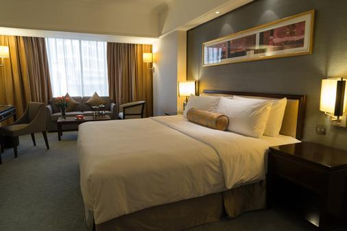 西安香格里拉金花飯店 - 西安 - 臥室