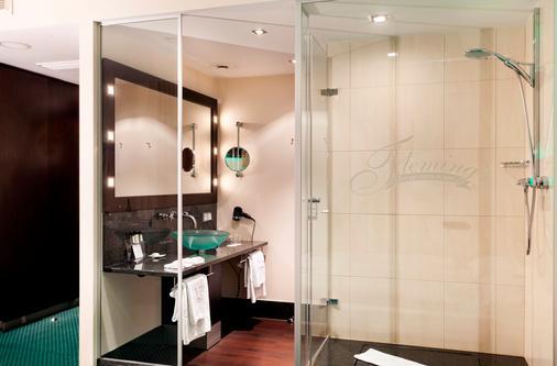 法蘭克福紐波斯弗萊明酒店 - 法蘭克福 - 法蘭克福 - 浴室