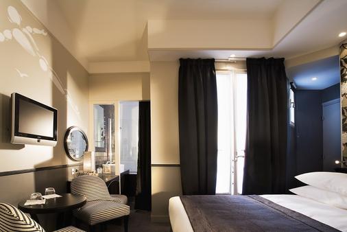 Hôtel des Académies et des Arts - Paris - Soveværelse