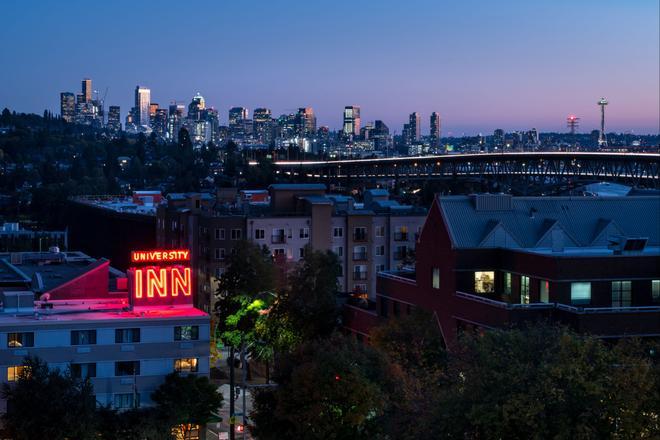 Staypineapple at University Inn - Seattle - Toà nhà
