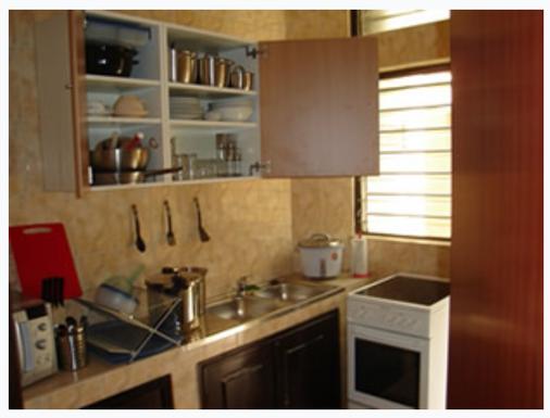 Résidences La Fourmi - Lomé - Kitchen